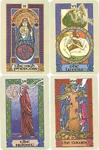 Celtic Tarot By Courtney Davis & Helena Paterson