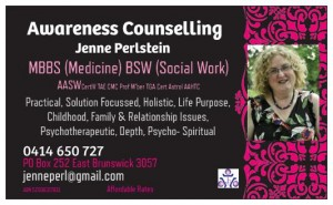 business card counselling